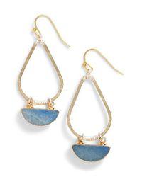 Nakamol - Blue Bahar Lapis Teardrop Earrings - Lyst