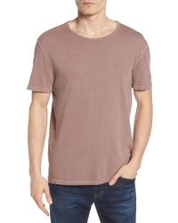 AG Jeans - White Ramsey Slim Fit Crewneck T-shirt for Men - Lyst