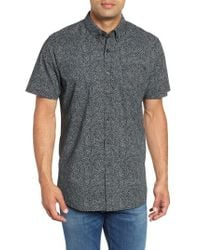 Rip Curl - Black Spin Out Woven Shirt for Men - Lyst