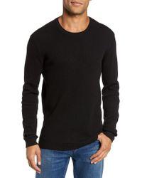 AG Jeans - Black Travis Slim Fit Long Sleeve T-shirt for Men - Lyst