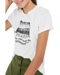 Madewell - White Marfa Whisper Cotton Crewneck Tee - Lyst