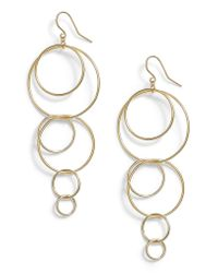 Gorjana - Metallic Wilshire Multi Loop Drop Earrings - Lyst