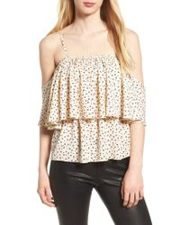 BISHOP AND YOUNG - White Bishop + Young Lilly Tiered Top - Lyst