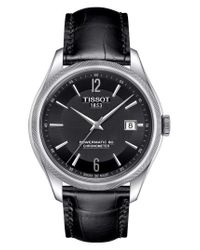 Tissot - Multicolor Ballade Powermatic 80 Chronometer Leather Strap Watch for Men - Lyst