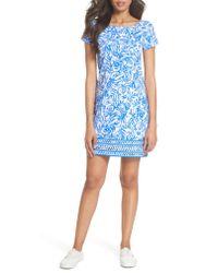 Lilly Pulitzer - Blue Lilly Pulitzer Marlowe Shift Dress - Lyst