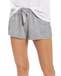 Make + Model - Gray Bring It On Lounge Shorts - Lyst