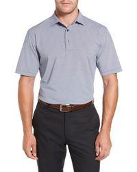 Peter Millar | Blue Sean Jubilee Stripe Jersey Polo for Men | Lyst
