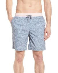 Imperial Motion - Blue Hayworth Mix Board Shorts for Men - Lyst