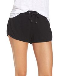 Make + Model - Black Bring It On Lounge Shorts - Lyst