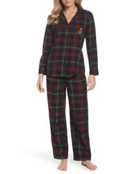 Lauren by Ralph Lauren   Pink Cotton Pajamas   Lyst