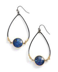 Nakamol - Blue Bezan Faceted Lapis Teardrop Earrings - Lyst