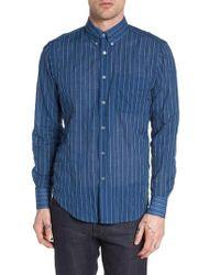 Naked & Famous - Blue Naked & Famous Summertime Vintage Shirt for Men - Lyst