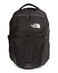 The North Face - Black Recon Backpack for Men - Lyst