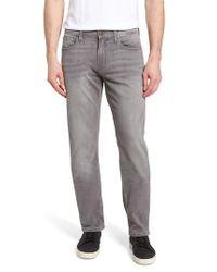 PAIGE - Black Normandie Straight Leg Jeans for Men - Lyst