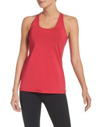 Brooks | Red 'go-to' Racerback Tank | Lyst