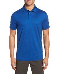 BOSS Blue Press Flame Slim Fit Polo Shirt for men