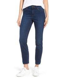 NYDJ Blue Alina Stretch Skinny Jeans