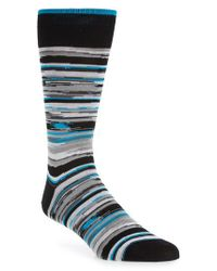 Bugatchi - Multicolor Cotton Blend Socks for Men - Lyst