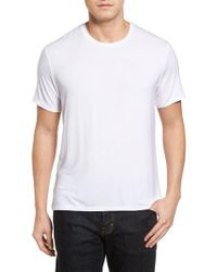 Stone Rose - White Stretch Modal T-shirt for Men - Lyst