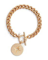 Treasure & Bond | Metallic Star Disc Toggle Bracelet | Lyst