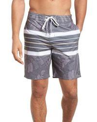 Billabong - Black Stringer Lo Tides Board Shorts for Men - Lyst