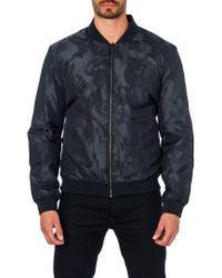 Jared Lang | Black New York Reversible Bomber Jacket for Men | Lyst