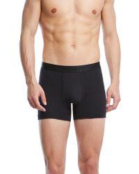 2xist - Black Pima Cotton Boxer Briefs for Men - Lyst