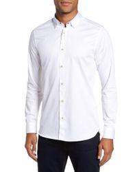Ted Baker - White Marsay Modern Slim Fit Sport Shirt for Men - Lyst