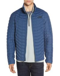 The North Face | Packable Stretch Thermoball(tm) Primaloft Jacket, Blue for Men | Lyst