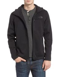 The North Face - Black Apex Canyonwall Hybrid Jacket for Men - Lyst