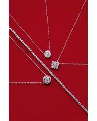 Kwiat - White 'riviera' Diamond Tennis Bracelet - Lyst