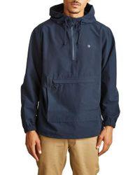 Brixton - Blue Patrol Water-resistant Anorak Jacket for Men - Lyst
