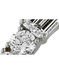 Bony Levy Metallic 'liora' Stackable Emerald Cut Diamond Ring