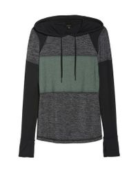 Alala - Gray Patchwork Hoodie for Men - Lyst