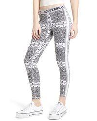 Converse - White X Miley Cyrus Bandana Print Leggings - Lyst