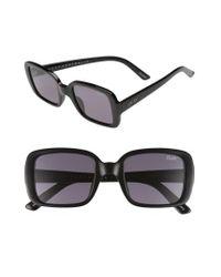 Quay | Black #quayxkylie '20s 54mm Square Sunglasses | Lyst