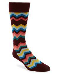 Paul Smith - Multicolor Fleet Chevron Socks for Men - Lyst