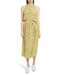 Robert Rodriguez - Multicolor Dania Floral Print Dress - Lyst