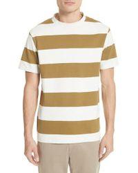 Norse Projects - Multicolor Johannes Wide Stripe T-shirt for Men - Lyst