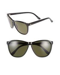 Electric - 'encelia' 62mm Polarized Sunglasses - Gloss Black/ Grey Polar - Lyst
