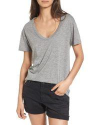 AG Jeans | Gray Henson Tee | Lyst