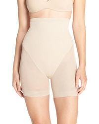 Tc Fine Intimates   Natural High Waist Shaping Shorts   Lyst