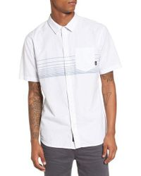 Vans - White Gillis Woven Shirt for Men - Lyst