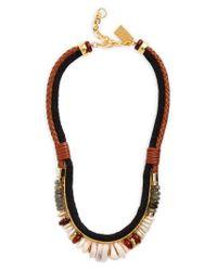 Lizzie Fortunato | Black Sand Mesa Necklace | Lyst