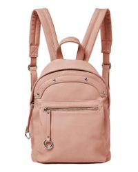 Urban Originals - Pink Vegan Leather Sunny Day Backpack - Lyst