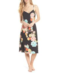 Natori - Black Saipan Nightgown - Lyst
