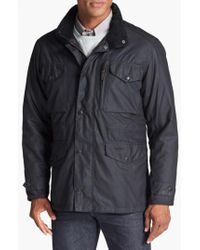 Barbour | Black 'sapper' Weatherproof Waxed Relaxed Fit Jacket for Men | Lyst