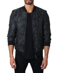 Jared Lang - Black New York Reversible Bomber Jacket for Men - Lyst