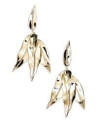 Elizabeth and James - Metallic Asher Cluster Drop Earrings - Lyst
