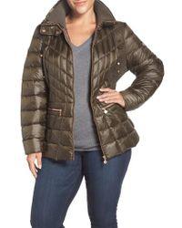 Bernardo | Packable Jacket With Down & Primaloft Fill, Green | Lyst